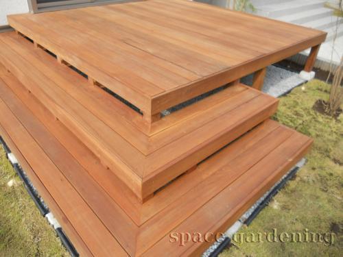 ウッドデッキ 木製 アイアンウッド