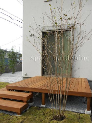 庭 ウッドデッキ 木製 アイアンウッド