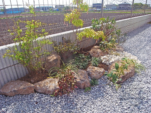 庭 和風 石組み 坪庭