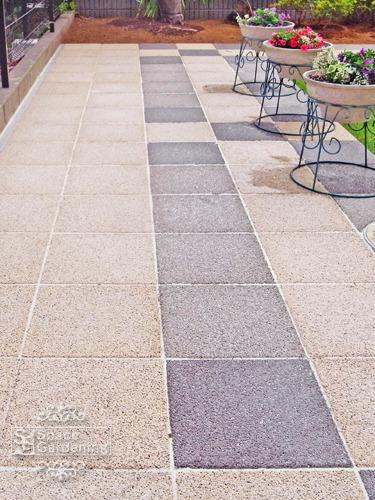 アプローチ コンクリート平板 オールラウンドペイブ