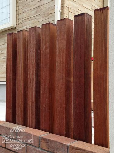 角柱 木製 セランガンバツ材