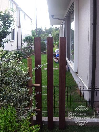 角柱 木製 イタウバ材