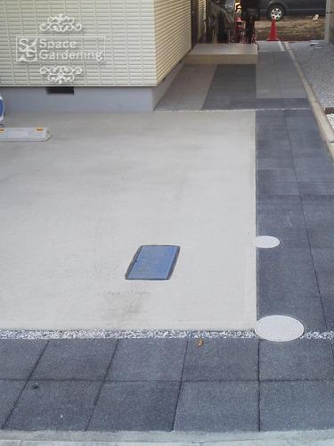 駐車場 コンクリート平板 スーパーテラMD