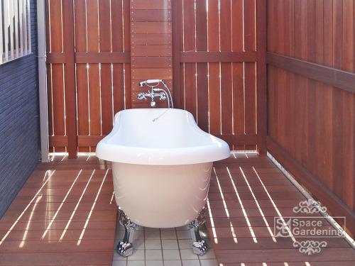 露天風呂 ウッドデッキ 木製 アイアンウッド