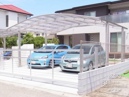 車庫 カーポート 大仙 リアルポート3