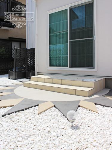 庭 テラス デザイン