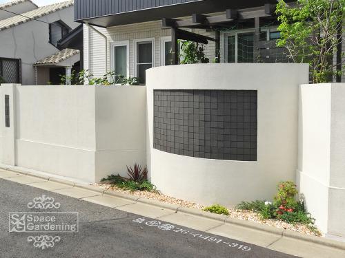 塀 塗り壁 タイル LIXIL バストラーノ
