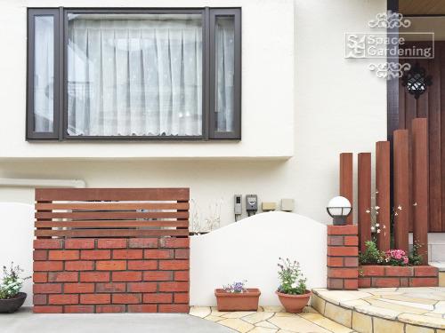 飾り壁 塗り壁 レンガ TOYO グラヴィブリック 角柱