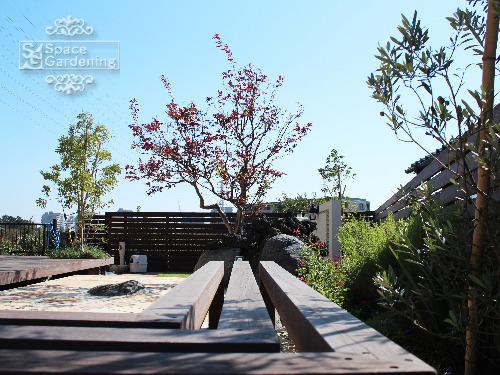 庭 ベンチ 木製 アイアンウッド