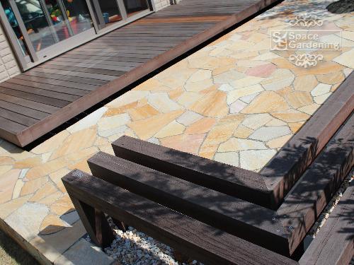 ベンチ 木製 アイアンウッド