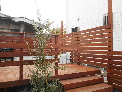 ウッドフェンス 木製 ウリン材