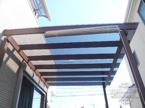 テラス屋根 ポリカーボネート