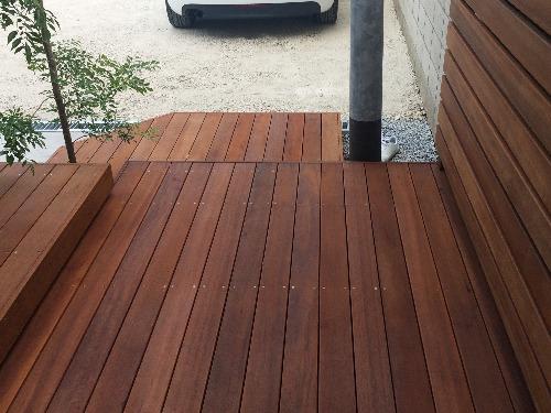 ステップ 木製 ウリン材