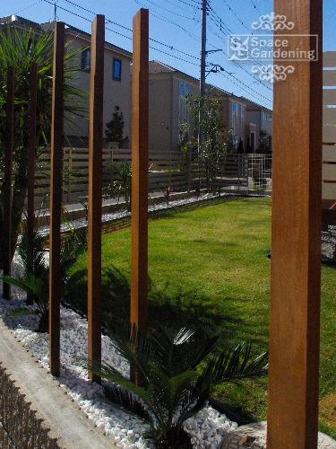 角柱 天然木材 ウリン材