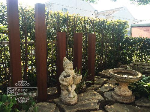 角柱 天然木材 ウリン材 オブジェ
