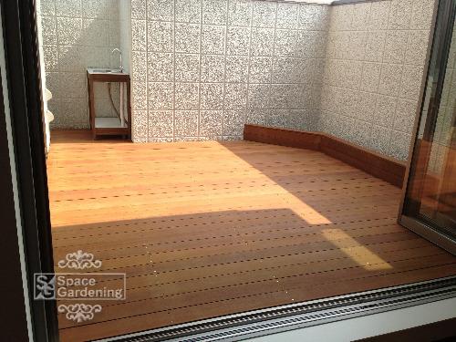 ウッドデッキ 木製 ウリン材