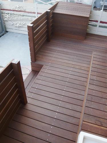 ウッドデッキ 高級天然木材 ウリン材