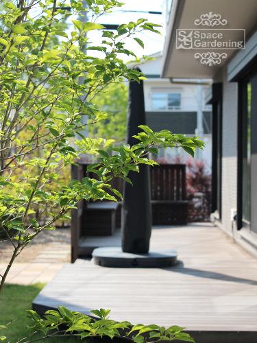 庭 ウッドデッキ 高級天然木 ウリン材