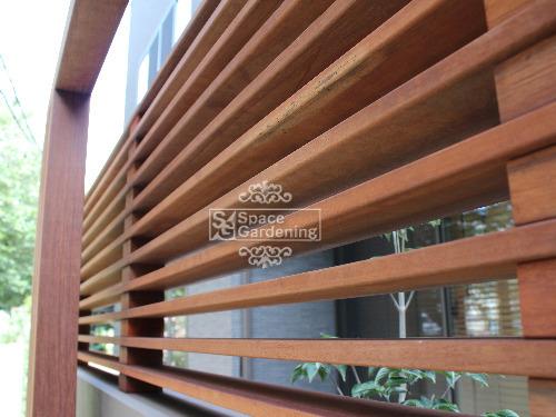 フェンス 高級天然木材 ウリン材