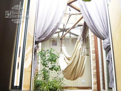 ガーデンルーム ハンモック