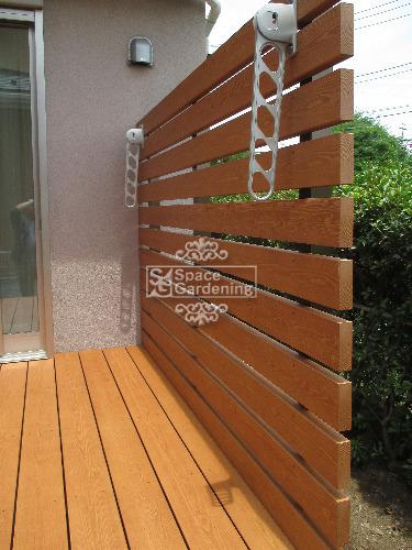 樹脂製ウッドフェンス MINO 彩木