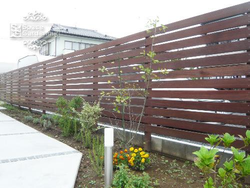 ウッドフェンス 高級天然木材 ウリン材