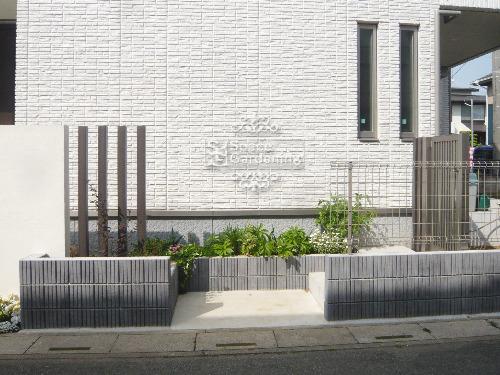 花壇 化粧ブロック 角柱 スレンダーポール