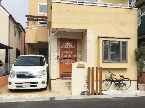 千葉県浦安市 オープン外構 ナチュラル