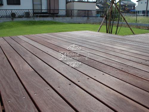 ウッドデッキ 高級木材 ウリン材