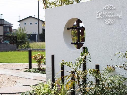 飾り壁 塗装 タカショー エコ竹