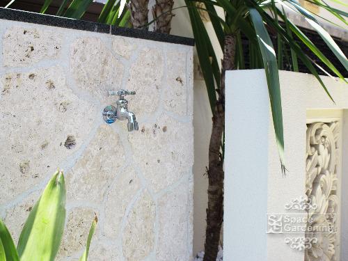 立水栓 琉球石灰岩
