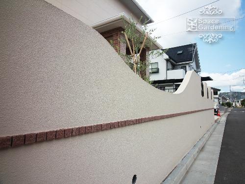 壁 塗装 モザイクタイル