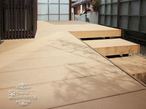 ウッドデッキ 樹脂製 LIXIL 樹ら楽ステージ