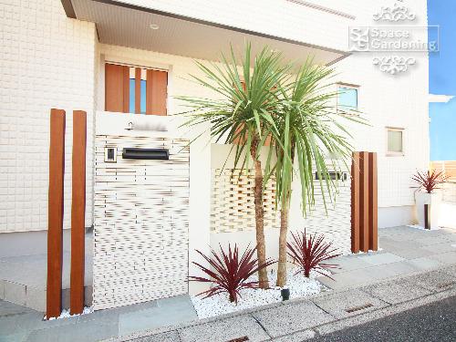 埼玉県さいたま市 オープン外構 二世帯住宅
