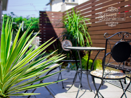 庭 シンプル