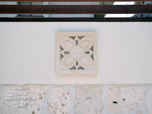 飾り壁 オーナメント バリ風 目隠し塀