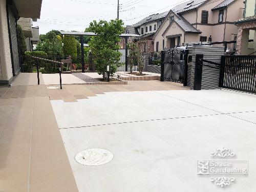 駐車場 コンクリート