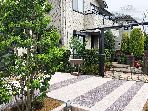 庭 テラス コンクリート平板 TOYO アクリナペイブ
