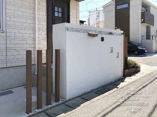 門柱 塗装 角柱 エクスタイル アーバンポール
