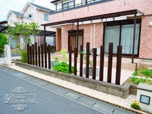 オープン 角柱 植栽 樹脂製