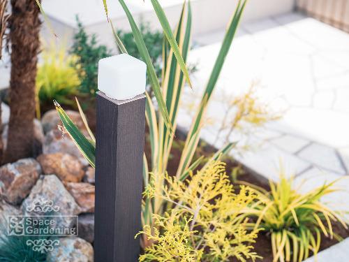 植栽 花壇 照明 タカショー エバーアートポールライト2型