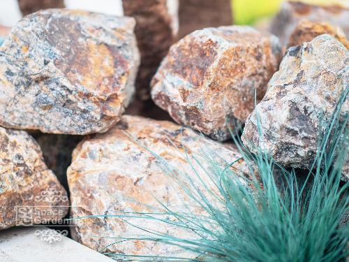 天然石 花壇